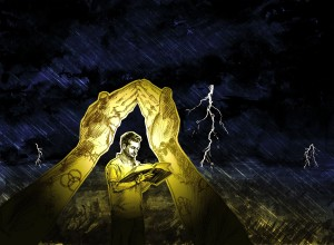 Shelter From the Storm Illustration